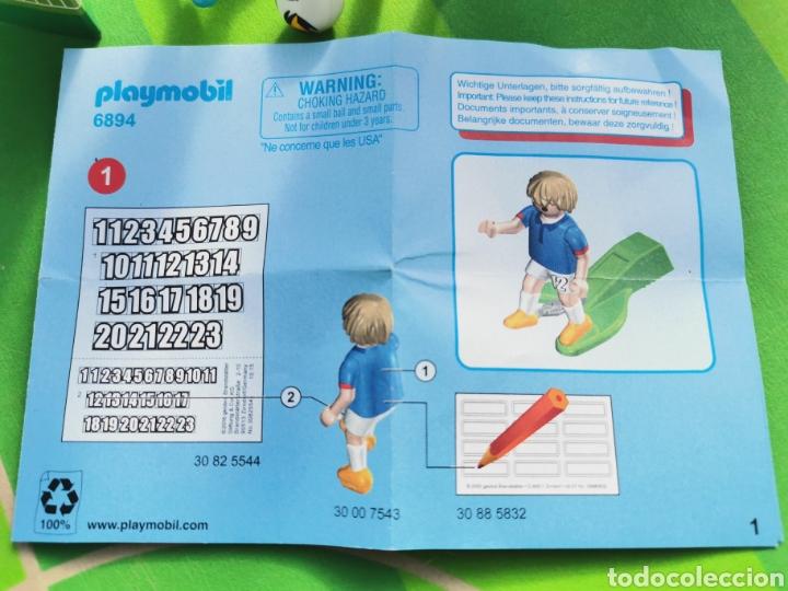 Playmobil: PLAYMOBIL JUGADOR FÚTBOL FRANCIA Y ALEMANIA 6894 6893 - Foto 3 - 180348966