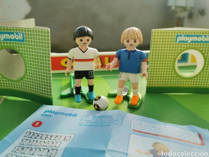 PLAYMOBIL JUGADOR FÚTBOL FRANCIA Y ALEMANIA 6894 6893 (Juguetes - Playmobil)