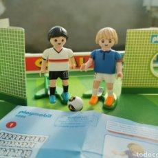 Playmobil: PLAYMOBIL JUGADOR FÚTBOL FRANCIA Y ALEMANIA 6894 6893. Lote 180348966