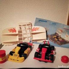 Playmobil: STARTERSET TALLER KARTS - PLAYMOBIL - REF. 6869 - FORMULA 1. Lote 180431795