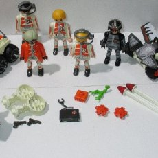 Playmobil: PLAYMOBIL LOTE FIGURAS Y ACCESORIOS SPY TEAM, TOP AGENT. Lote 182012922