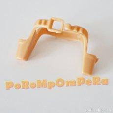 Playmobil: PLAYMOBIL CINTURÓN VAQUERO MARRÓN CLARO CANANA DOBLE 3304 3381 1ª ÉPOCA OESTE CARTUCHERA PISTOLA V06. Lote 182296852