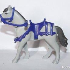 Playmobil: PLAYMOBIL MEDIEVAL CABALLO CON ARNES DEL CASTILLO CABALLERO. Lote 194878961