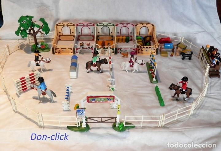 PLAYMOBIL HÍPICA CABALLOS, CUADRAS (Juguetes - Playmobil)