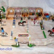 Playmobil: PLAYMOBIL HÍPICA CABALLOS, CUADRAS. Lote 182644783