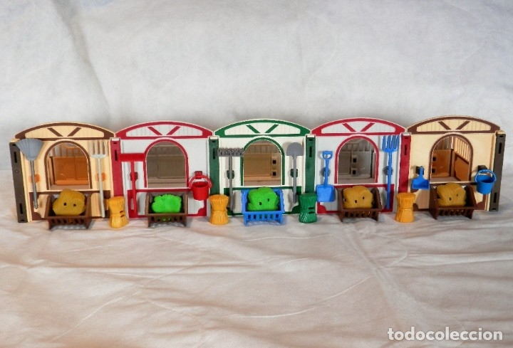 Playmobil: Playmobil hípica caballos, cuadras - Foto 2 - 182644783