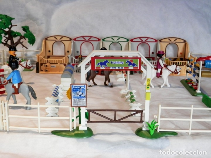 Playmobil: Playmobil hípica caballos, cuadras - Foto 3 - 182644783
