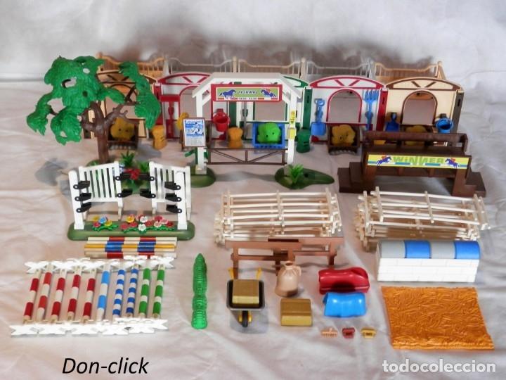 Playmobil: Playmobil hípica caballos, cuadras - Foto 6 - 182644783
