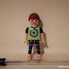 Playmobil: FIGURA CLICK - CAMISA VERDE - PLAYMOBIL. Lote 182652531