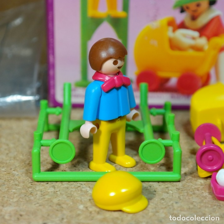 Playmobil: Playmobil ref. 5403 completo con caja, niños con cochecito zanco, victoriano linea rosa mansion 5300 - Foto 2 - 182737890