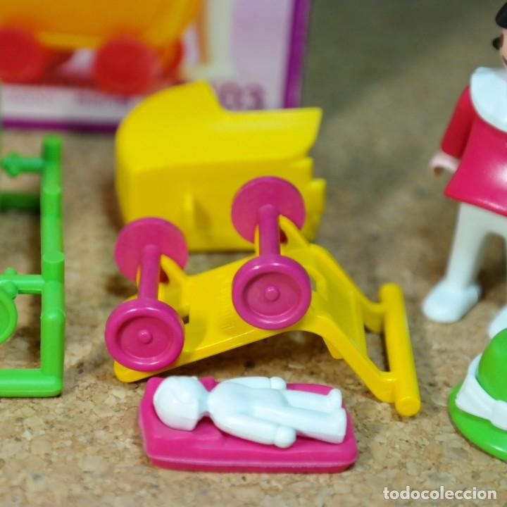 Playmobil: Playmobil ref. 5403 completo con caja, niños con cochecito zanco, victoriano linea rosa mansion 5300 - Foto 4 - 182737890