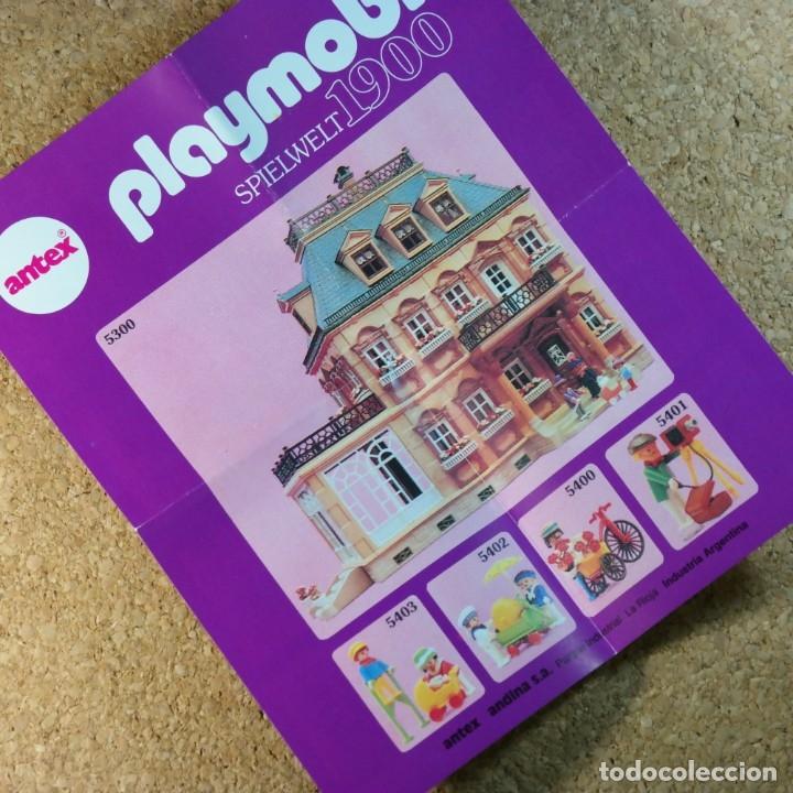 Playmobil: Playmobil ref. 5403 completo con caja, niños con cochecito zanco, victoriano linea rosa mansion 5300 - Foto 5 - 182737890