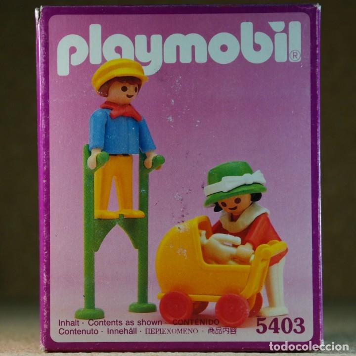 Playmobil: Playmobil ref. 5403 completo con caja, niños con cochecito zanco, victoriano linea rosa mansion 5300 - Foto 7 - 182737890