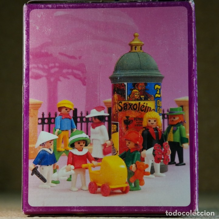 Playmobil: Playmobil ref. 5403 completo con caja, niños con cochecito zanco, victoriano linea rosa mansion 5300 - Foto 8 - 182737890