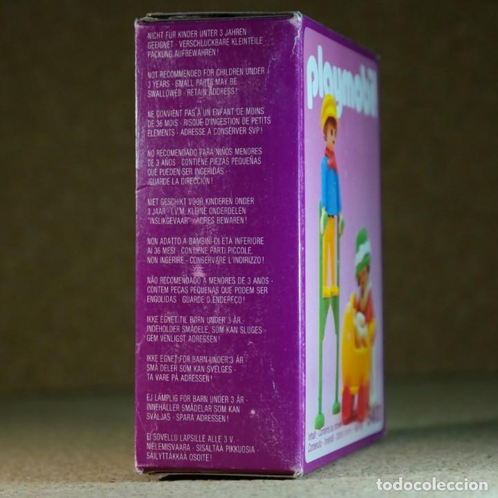 Playmobil: Playmobil ref. 5403 completo con caja, niños con cochecito zanco, victoriano linea rosa mansion 5300 - Foto 9 - 182737890