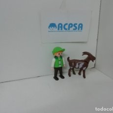 Playmobil: PLAYMOBIL NIÑO MEDIEVAL CON CABRA. Lote 182796423