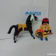 Playmobil: PLAYMOBIL CAZADOR INDIO A CABALLO. Lote 182899941