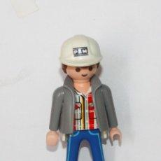 Playmobil: PLAYMOBIL MEDIEVAL FIGURA HOMBRE OPERARIO. Lote 182911621