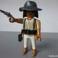 Playmobil: PLAYMOBIL VAQUERO OESTE CON CARTUCHERA Y PISTOLA . Lote 183330446