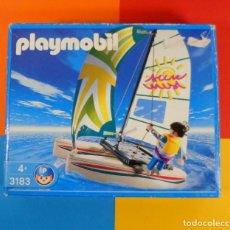 Playmobil: PLAYMOBIL 3183 CATAMARAN NUEVO EN CAJA. Lote 183362961
