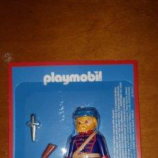 Playmobil: FIGURA PLAYMOBIL SOLDADO DEL NORTE AVENTURA DE LA HISTORIA EDITORIAL PLANETA BLISTER PRECINTADO. Lote 183530161
