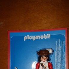 Playmobil: FIGURA PLAYMOBIL MOSQUETERO AVENTURA DE LA HISTORIA EDITORIAL PLANETA BLISTER PRECINTADO NUEVO. Lote 183530208