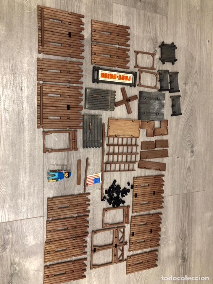 Playmobil: Famobil 3420 Fort Unión Fuerte Oeste - Foto 3 - 183725528