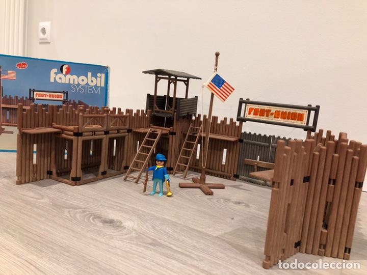 Playmobil: Famobil 3420 Fort Unión Fuerte Oeste - Foto 8 - 183725528
