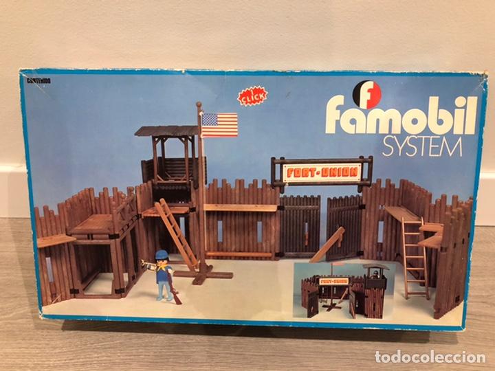 FAMOBIL 3420 FORT UNIÓN FUERTE OESTE (Juguetes - Playmobil)