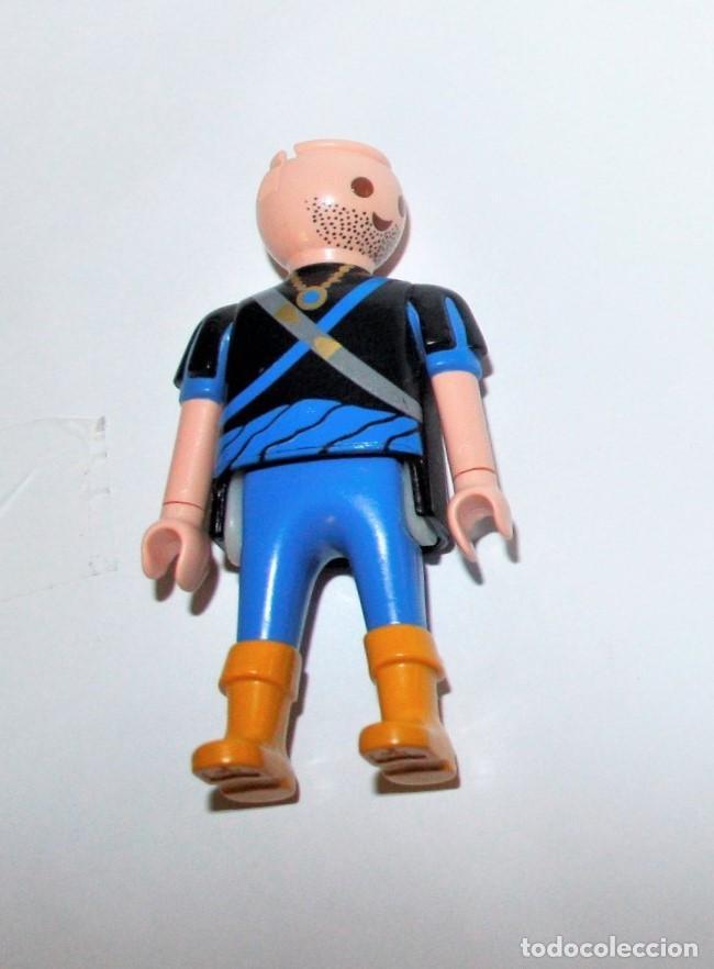 PLAYMOBIL MEDIEVAL FIGURA GUERRERO CABALLERO PIRATA (Juguetes - Playmobil)