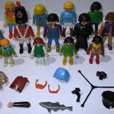 Playmobil: PLAYMOBIL, LOTE FIGURAS Y ACCESORIOS. Lote 184179867