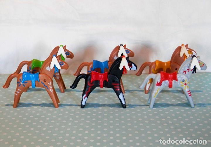PLAYMOBIL CABALLOS INDIOS (Juguetes - Playmobil)
