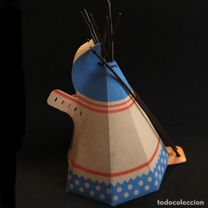 Playmobil: PLAYMOBIL TIPI TIENDA INDIA POBLADO INDIOS OESTE WESTERN INDIO PIEZAS - Foto 2 - 185679420