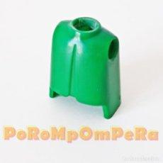 Playmobil: PLAYMOBIL TORSO CLÁSICO VERDE PRIMERA ÉPOCA IDEAL CUSTOM MONTAJE RECAMBIO CUERPO REPUESTO. Lote 185720163