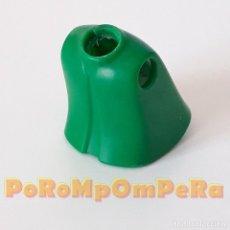 Playmobil: PLAYMOBIL TORSO MUJER CLÁSICO VERDE 1ª ÉPOCA IDEAL CUSTOM MONTAJE RECAMBIO CUERPO REPUESTO. Lote 185720347
