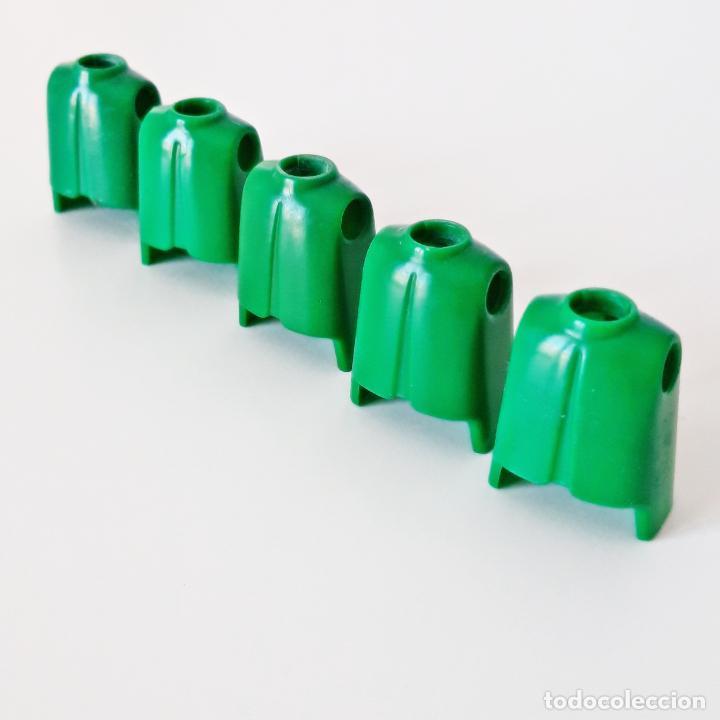 Playmobil: PLAYMOBIL LOTE X5 TORSO CLÁSICO VERDE PRIMERA ÉPOCA IDEAL CUSTOM MONTAJE RECAMBIO CUERPO REPUESTO - Foto 2 - 185720545