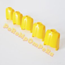 Playmobil: PLAYMOBIL LOTE X5 TORSO CLÁSICO AMARILLO PRIMERA ÉPOCA IDEAL CUSTOM MONTAJE RECAMBIO CUERPO REPUESTO. Lote 185720568
