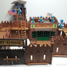 Playmobil: FUERTE FORT RANDALL PLAYMOBIL 3419 OESTE WESTERN FORTALEZA NORDISTA. Lote 186107223