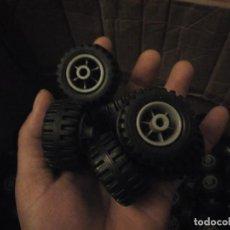 Playmobil: PLAYMOBIL LOTE DE 9,300 KG DE RUEDAS DE JEEP QUAD,NUEVAS SIN USAR.. Lote 186175808