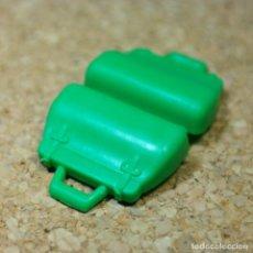 Playmobil: PLAYMOBIL VALIJA MALETA MALETIN VERDE, VIAJE MUJER EQUIPAJE BOLSO. Lote 256088415