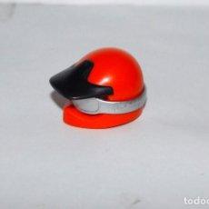 Playmobil: PLAYMOBIL MEDIEVAL CASCO MOTORISTA MOTO GAFAS. Lote 186361157