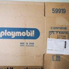 Playmobil: PLAYMOBIL CAJA DE CARTON ONIL-ALICANTE. FABRICADA EN ESPAÑA. Lote 186460457