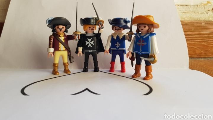 DARTAGNAN Y LOS TRES MOSQUETEROS PLAYMOBIL (Juguetes - Playmobil)