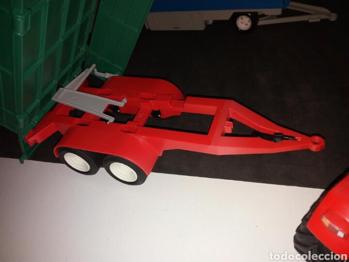 Playmobil: PLAYMOBIL. TRACTOR CON REMOLQUE PARA TRONCOS DE ARBOLES - Foto 5 - 135793589