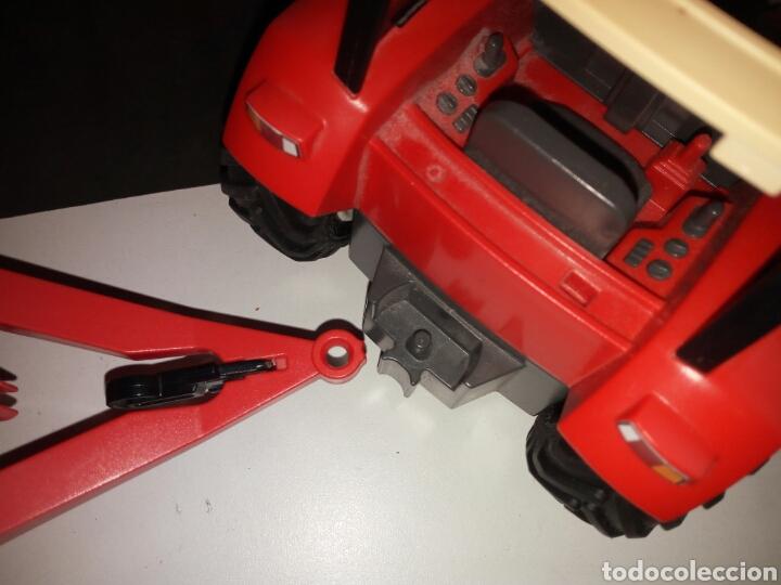 Playmobil: PLAYMOBIL. TRACTOR CON REMOLQUE PARA TRONCOS DE ARBOLES - Foto 6 - 135793589