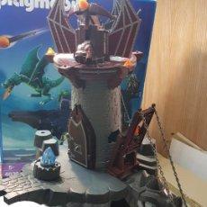 Playmobil: PLAYMOBIL TORRE DEL DRAGON REF.4836 EN CAJA ORIGINAL. Lote 187483452