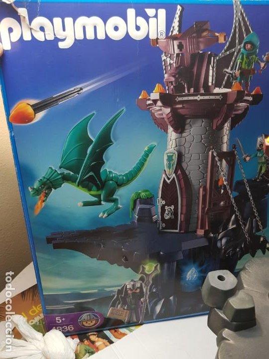 Playmobil: Playmobil Torre del Dragon ref.4836 en caja original - Foto 5 - 187483452