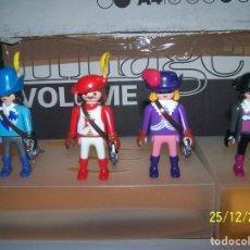 Playmobil: LOTE PLAYMOBIL 4 MOSQUETEROS, ESPADA, CABALLERO. LEER DESCRIPCIÓN. Lote 189234543