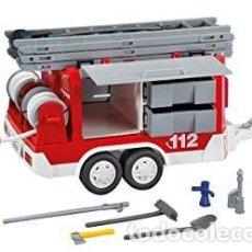 Playmobil: PLAYMOBIL 7485 TRAILE DE BOMBEROS! CAMION! FUEGO MANGUERA! NUEVO! SIN ABRIR. Lote 189544781