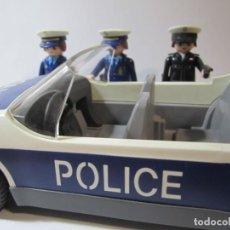 Playmobil: LOTE COCHE POLICE Y 3 POLICIAS PLAYMOBIL. Lote 190161438